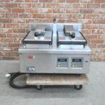 サニクック 餃子焼き機 GZ271B 2016年製 2連 単相200V 自動調理器 業務用を買い取りました♪(^_-)-☆