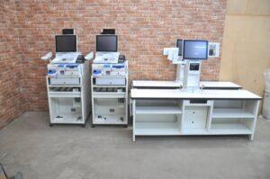 ISHIDA イシダ Fe 富士電機 POSレジシステム 自動釣銭機 ECS-77 100V バーコードスキャナー 会計を買い取りました♪(^_-)-☆
