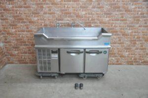 ホシザキ 台下冷蔵庫 RM-120SNC 業務用2ドア 舟形シンク コールドテーブルを買い取りました♪(^_-)-☆